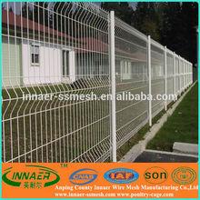 High quality plastic garden fence panels