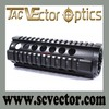 Vector Optics 7'' Tactical T-Series AR15 AR 15 AR-15 M4 Free Float Handguard Quad Rail for Red Dot Scope Laser and Flashlight