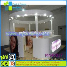 High level teeth whitening kiosk/baking paint mall teeth whitening kiosk/mall kiosk design