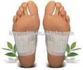 Bamboo patch de désintoxication vinaigre, detox minceur patch pied, patch de désintoxication