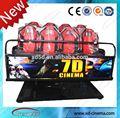 De alta calidad 4d 5d cine 5d simulador de montaña rusa del simulador, 5d 6d 7d 9d simulador de cinema 4d 5d cine en movimiento