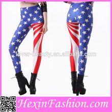 American flag girls sexy legging tights sexy leggings pics