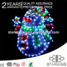 led apple tree light rgb 2014 high-simulation motif led lamps snowflake for christmas