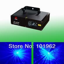 Cheap Single 1000mw Blue DMX laser logo projector for sale