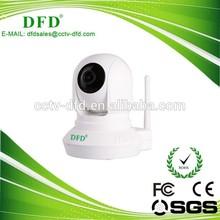 Wireless IP Camera, 1.3MP CMOS Sensor/720P, IR Night Vision, P2P, Wi-Fi, Indoor