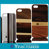 Bamboo wood personalized case cover for apple iphone 5 5s