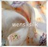 printed silk organza for bridal