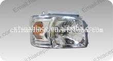 2-0109 Headlight crystal RH electroplating toyota hiace auto parts
