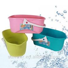 Plastic mop wringer bucket /plastic mop bucket