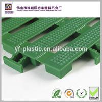 UV protected plastic pp floor tiles mat