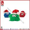 2014 new product stuffed christmas pet toy plush ball for dog