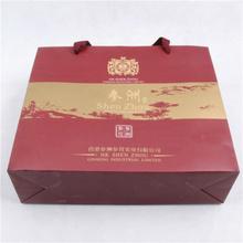 High quality Branded Retail christmas paper gift bag bag