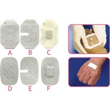 disposable and sterile waterproof and breathable PU I.V. Dressing