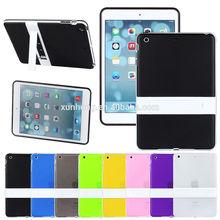 J1188 Ultra-Thin Soft TPU Translucent Hybrid Stand Case For Apple iPad air