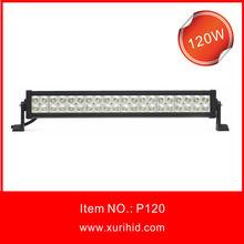 hot selling 120w led light bar led visor light bar
