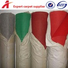 hot sale needle punched exhibition carpet roll