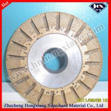 diamond glass grinding wheel/ the most popular diamond v-shape grinding wheel