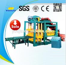 QTJ4-25 concrete block forming machine hollow brick machine fly ash brick machine