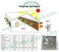 cojín de enfriamiento y ventilador del sistema