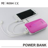 2600mAh External Portable 5000mah mobile power bank