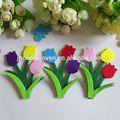 di alta qualità colorati pugni non tessuto di poliestere fiori di feltro tagliato