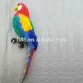 Aves artificiais africanas decorativas cinza macaw baratos papagaios para venda