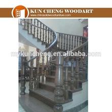 Home interior wood stairs RW12