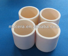 Platinum melting ceramic crucibles