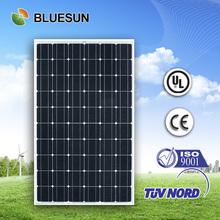 Bluesun high quality solar panel 260 watt with ISO CE TUV UL certificates