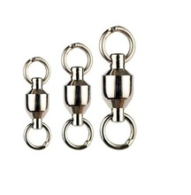 5 size Ball Bearing Swivel with split Rings
