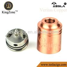 New copper atomizer RDA vaporizer , dry herb vaporizer w3 for Veritas Rda atomizer
