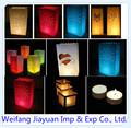 Chinês boa venda-- saco de vela ou vela luzes para casamento/casa/decoração do festival