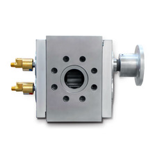 Increased output rates gear pump for Non-Woven fabrics