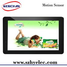 Wall mount motion sensor desktop cpu monitor