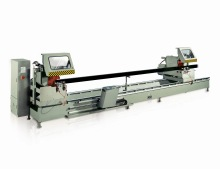 KT-383FD Curtain Wall CNC Double Head Cutting Machine Saw