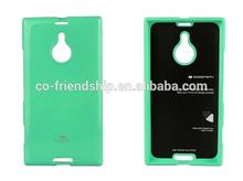 for Nokia XL flip cover,mercury goospery jelly tpu gel case