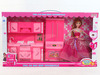 american girl doll with kitchen for girls