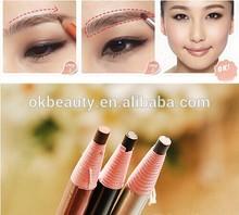 4Pcs/set Makeup Cosmetic Eye Liner Eyebrow Pencil Brush Tool Light Brown Black Grey
