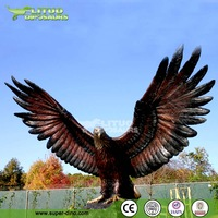 FRP Artificial Eagle Sculpture