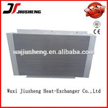 mini air compressor oil/air/water cooler,aluminum bar-plate heat exchanger