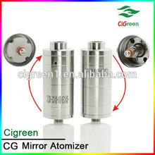 alibaba cigreen plume veil atomizer high quality atomizer mirror rda/ rba