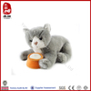 lovely plush custom cat toys for children Passed ICTI SEDEX BSCI WCA SA8000
