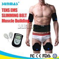 FDA approved ems slimming massager belt tummy fit vibration machine