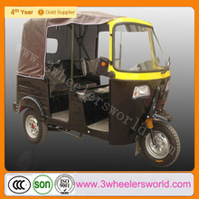 Alibaba Website China Newest Design 200cc Motorised Cheapest Gasoline Three Wheel Motorcycle with Steering Wheel on Sale