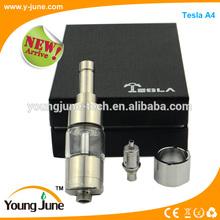 Hot selling!High quality tesla kit tesla vaporizer tesla A4 atomizer made of full stainless steel