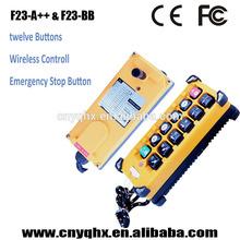 industria specialized remote control with 12 buttons 433mhz AC/DC12~24V,AC36V,AC220V,AC380V