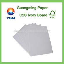 c1s white back art card board 300g art paper art carton paper