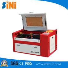SIN-L530D small CO2 laser cut wood jewelry price