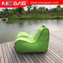 indoor bean bag recliner sofa set, portable bean bag stadium seat