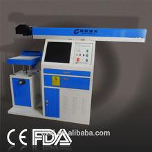 CX-CO2-60 Advanced brand id card/ micro sd card laser marking/engraving machine 30W-100W